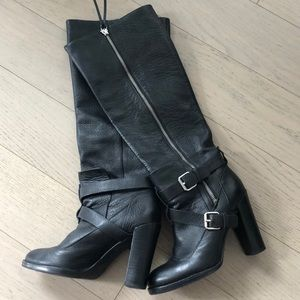Worn Once! knee-high boots